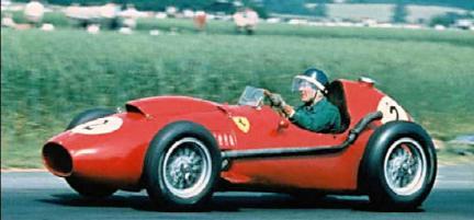 Mike Hawthorn, Ferrari em Silverstone