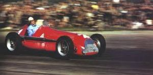 Nino Farina, Silverstone, 1950