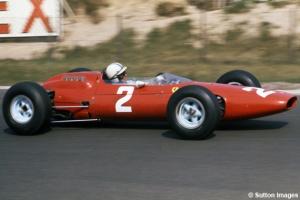 John Surtees, Ferrari em Zandvoort (Sutton Images)