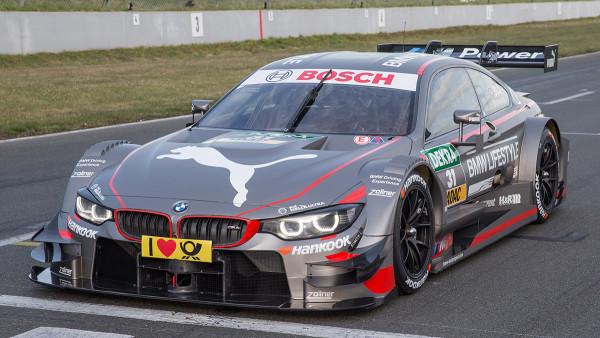 31 – Tom Blomqvist – Puma BMW M4 DTM – BMW Team RBM