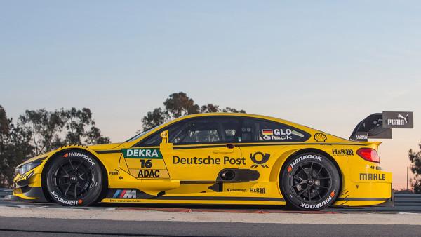 16 – Timo Glock – DEUTSCHE POST BMW M4 DTM – BMW Team MTEK