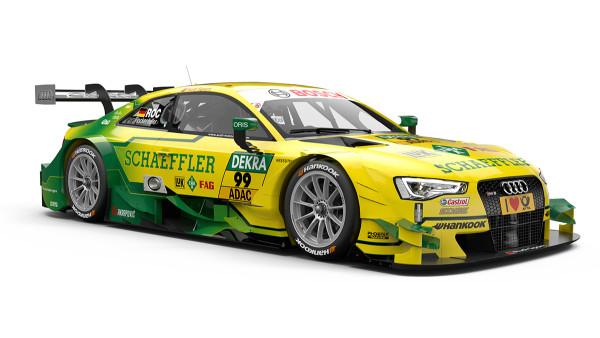 99 – Mike Rockenfeller – Schaeffler Audi RS 5 DTM – Audi Sport Team Phoenix