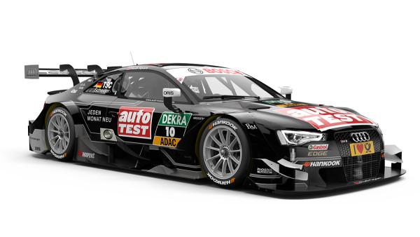 10 – Timo Scheider – AUTO TEST Audi RS 5 DTM – Audi Sport Team Phoenix