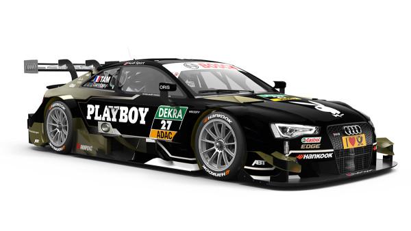 27 – Adrien Tambay – Playboy Audi RS 5 DTM  – Audi Sport Team Abt