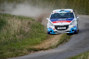 32 GAGO Diogo CARVALHO Jorge Peugeot 208 R2 action during the 2015 European Rally Championship ERC Ypres Rally, from June 18 to 20th 2015 at Ypres, Belgium. Photo Florent Gooden / DPPI