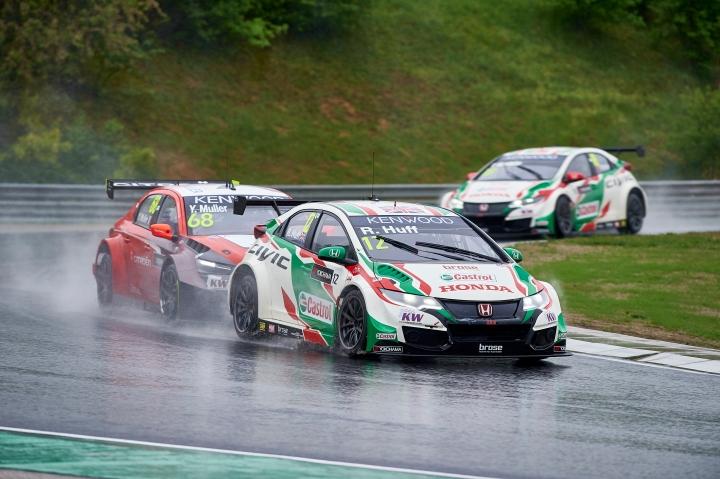 2016 EVENT: Race of Hungary TRACK: Hungaroring Race Track TEAM: Castrol Honda World Touring Car Team CAR: Honda Civic wtcc DRIVER: Rob Huff