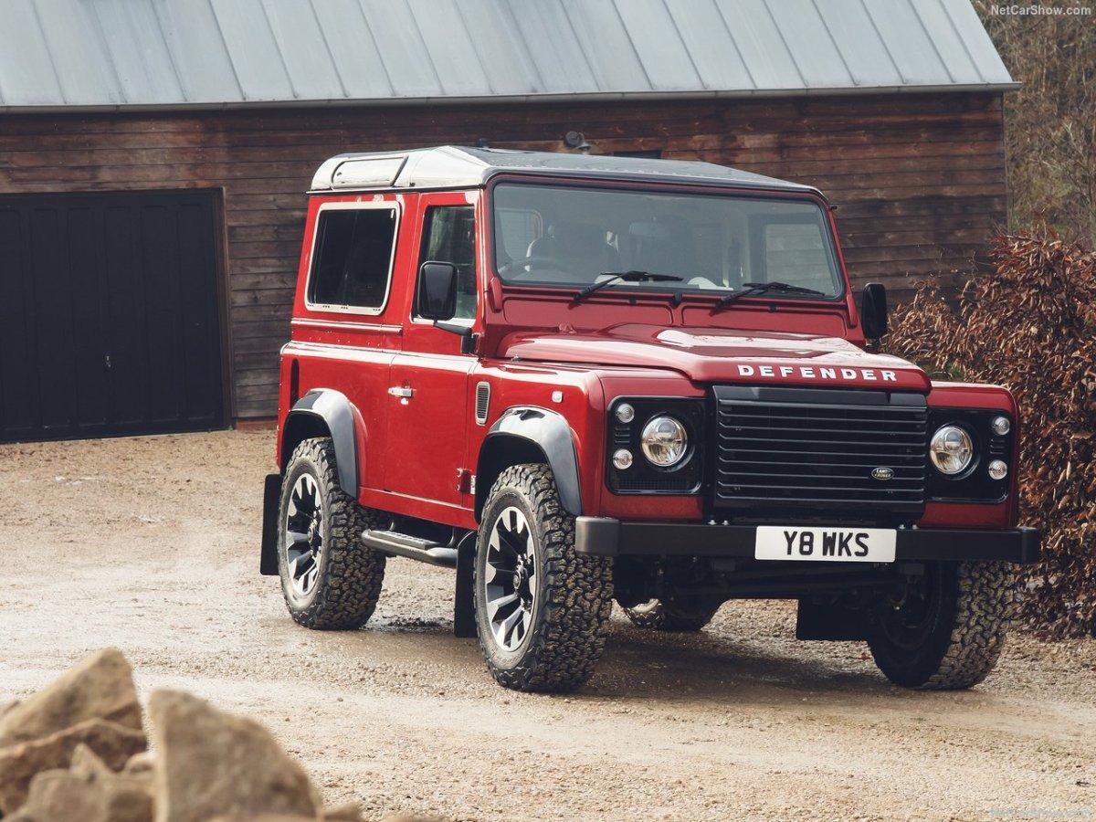 O último Land Rover Defender