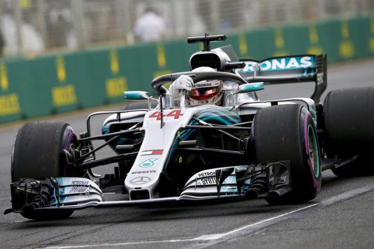 Lewis Hamilton austrália