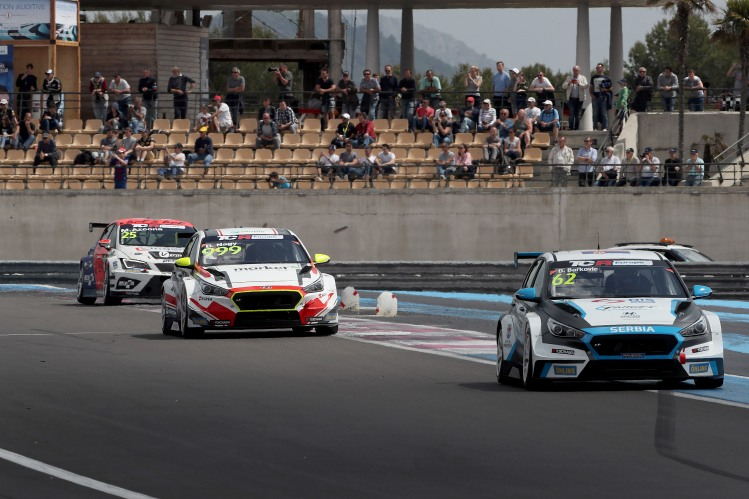 TCR Europe Circuit Paul Ricard, Castellet 4 - 6 May 2018