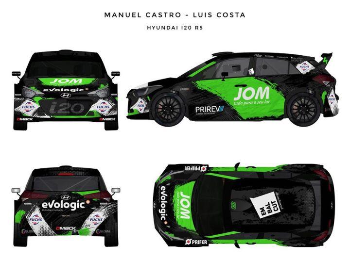 Manuel Castro Rali de Portugal 2018
