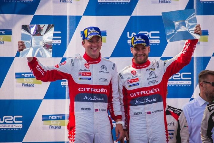 C3 WRC - M Ostberg - Finlandia 3