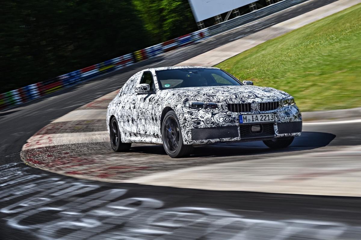 Estrada - A nova geração do BMW Série 3 já anda em testes