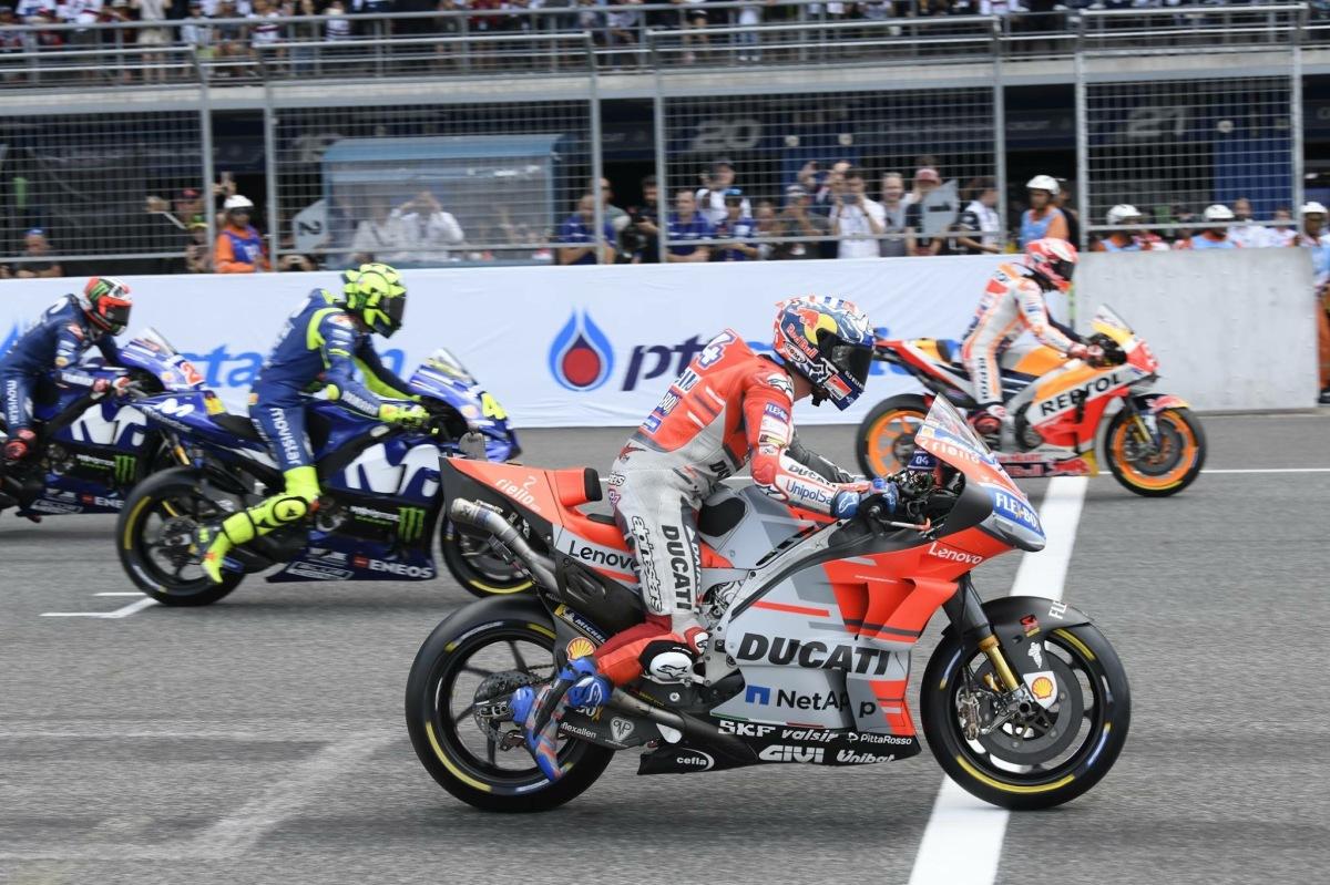 MotoGP - Andrea Dovizioso fica com a Pole em Motegi