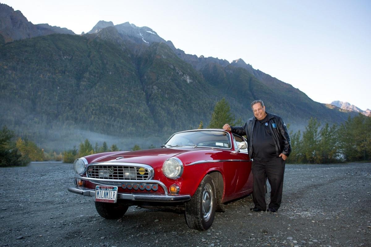 Estrada - Faleceu o recordista com 5,15 milhões de quilómetros num Volvo P1800S