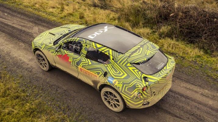 Aston Martin DBX Testes
