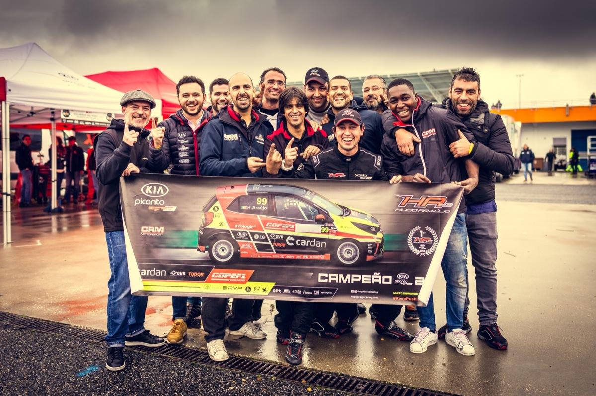 KIA Picanto GT Cup - Hugo Araújo é o campeão
