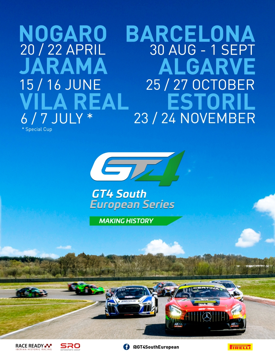 GT4 South European Series passa por Vila Real
