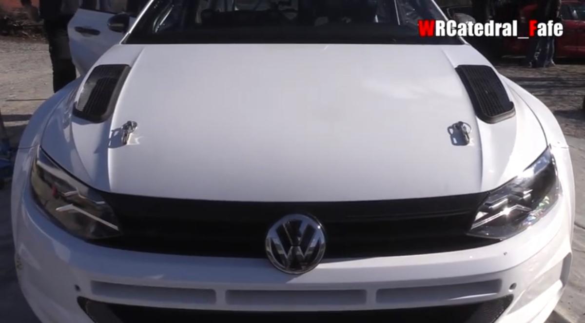 CPR - Pedro Meireles já rodou com o novo VW Polo R5