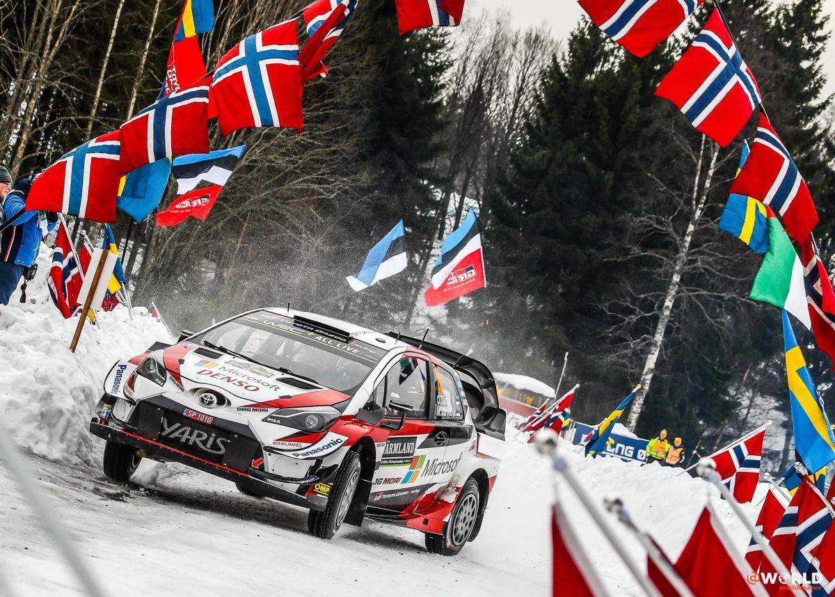 WRC - Ott Tänak lidera o Rali da Suécia ao fim do 2.º dia