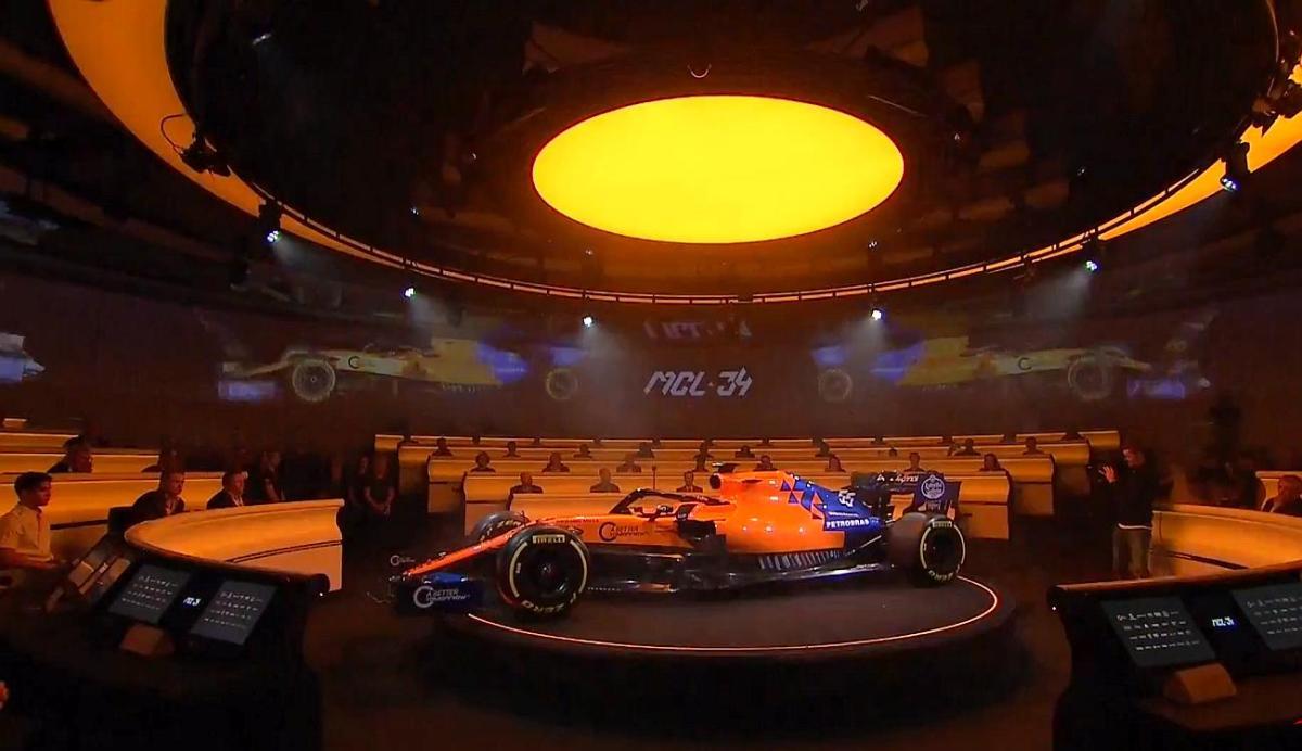 F1 - As cores da McLaren para 2019