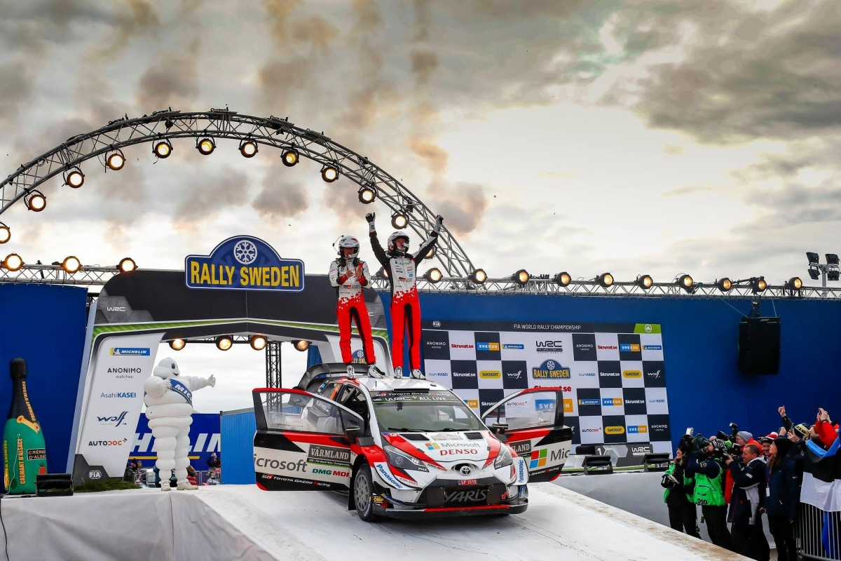 WRC - Ott Tänak vence o Rali da Suécia