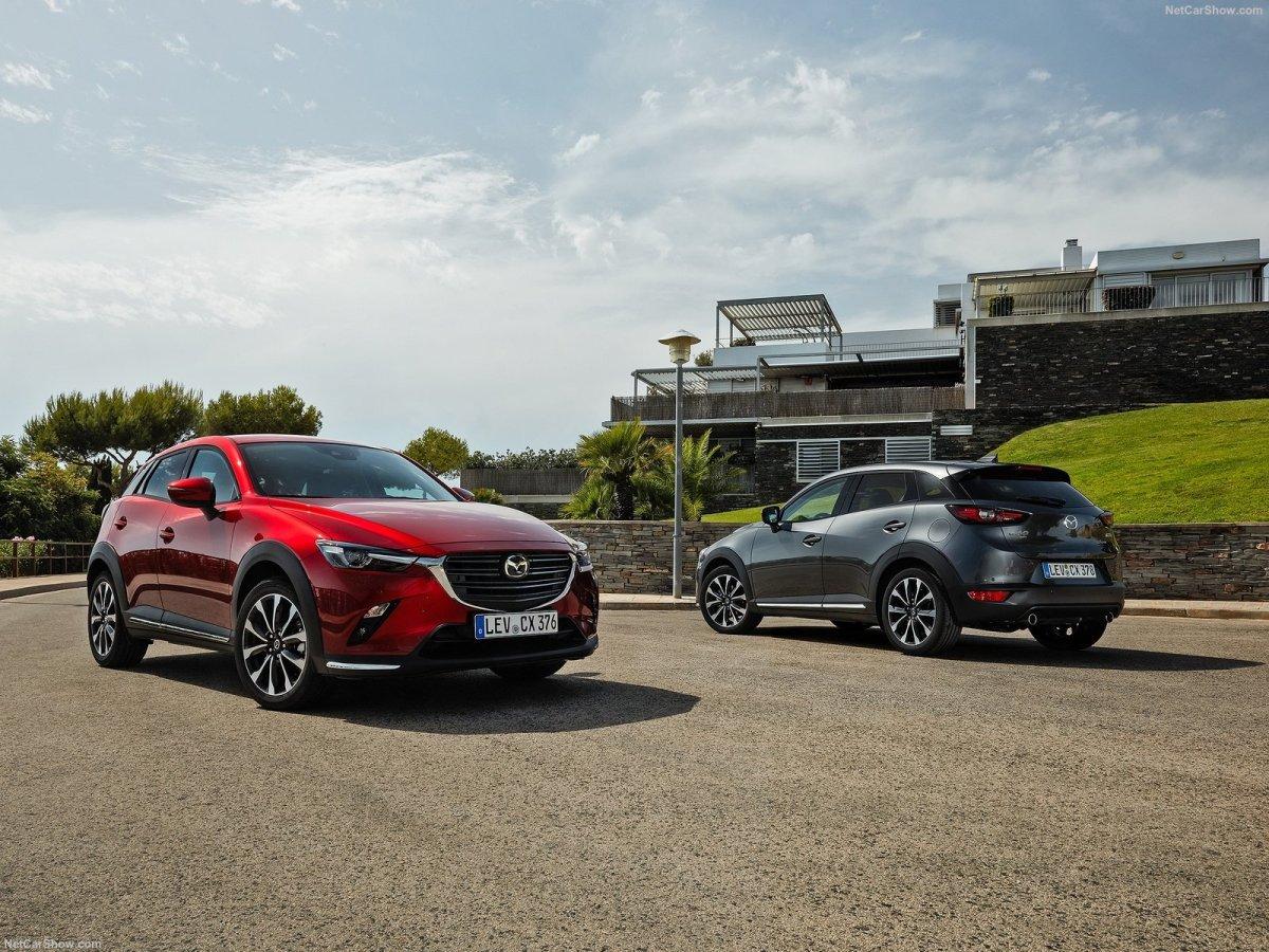 Estrada - Retoques e novos motores para o Mazda CX-3