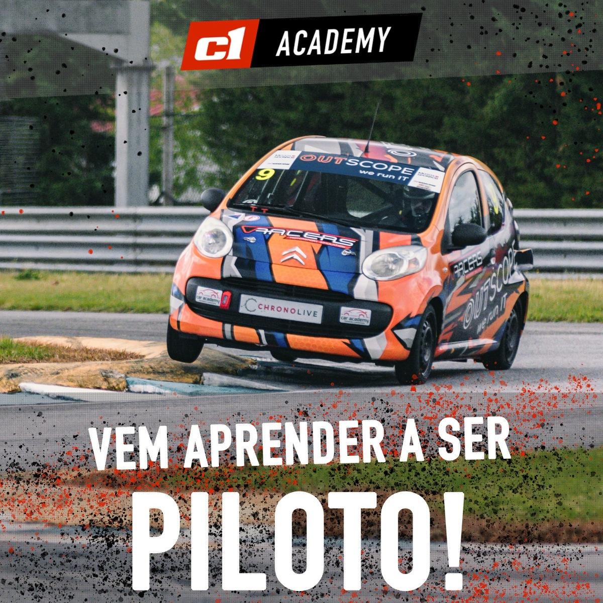 Troféu C1 Learn & Drive cria academia de pilotos