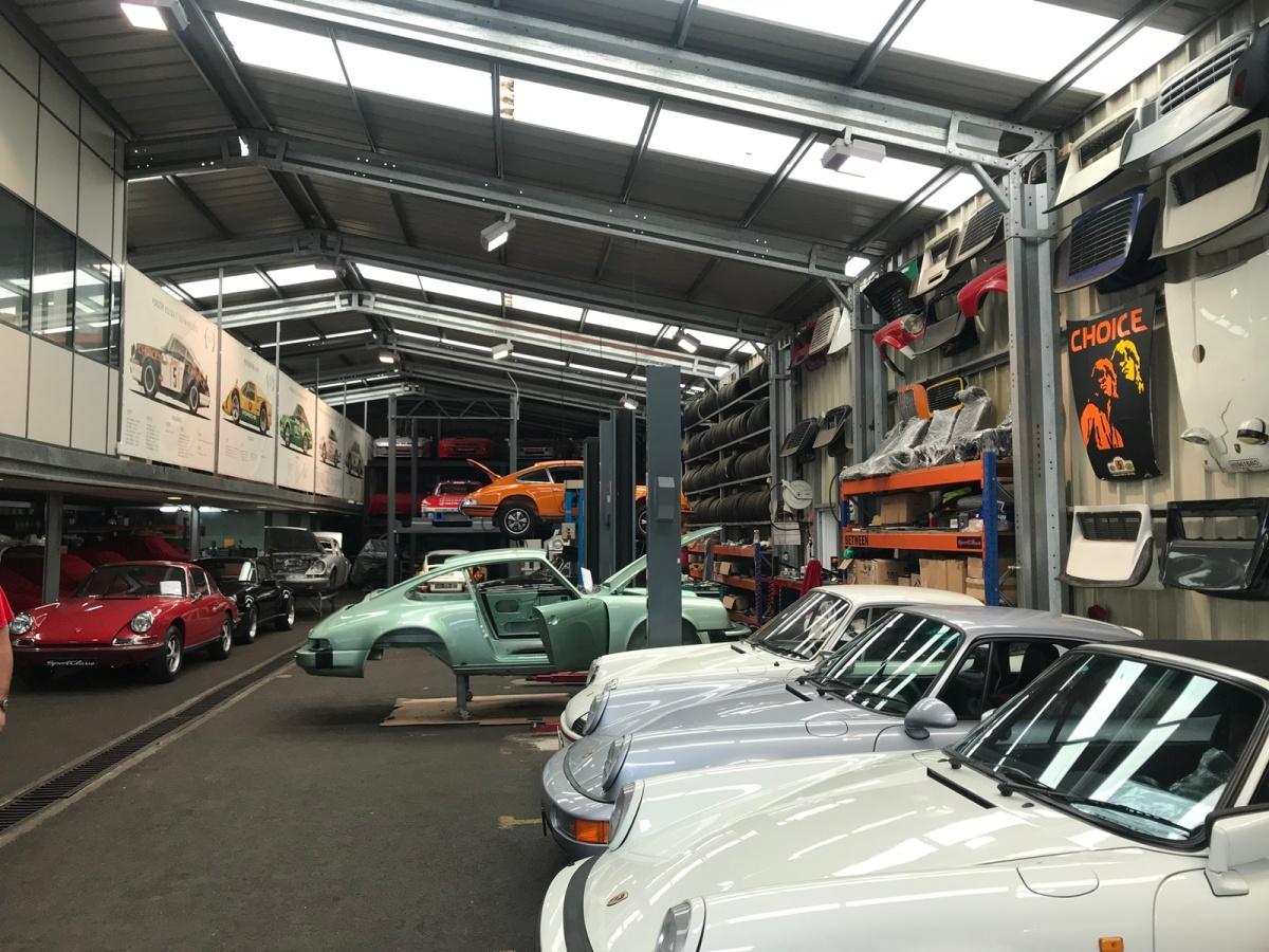Sportclasse - O Templo da Porsche